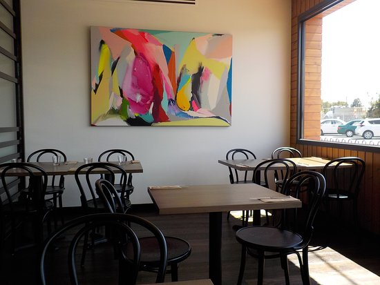 Clayton, ออสเตรเลีย: A quiet nook in the bistro