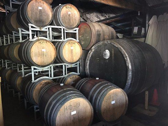 Wahgunyah, ออสเตรเลีย: Barrels