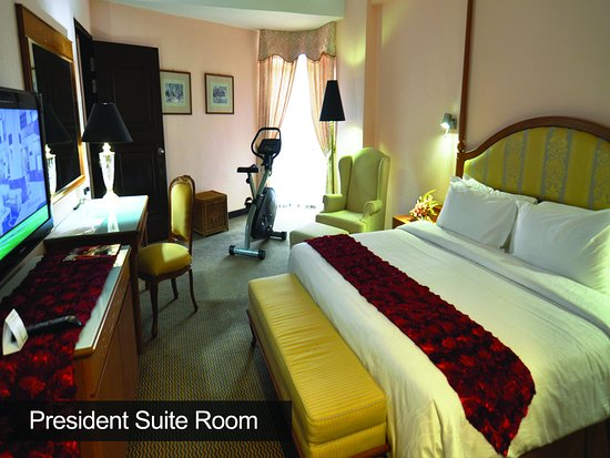 Hotel Grand Continental: President Suite Room