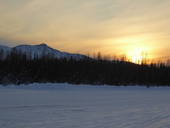 Northern Alaska Tour Company: Brief daylight hours in Coldfoot, Alaska