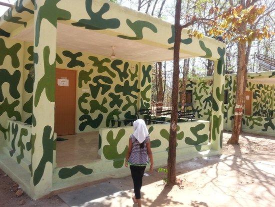 Nagpur, Indien: Amaltas-Sillari