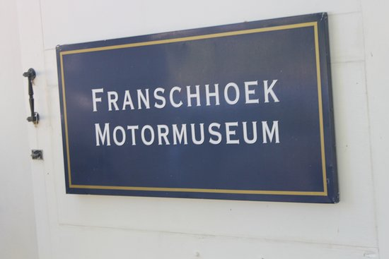 Franschhoek, Sudáfrica: MOTORMUSEUM