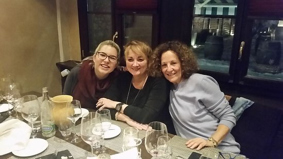 Veyrier, Suiza: Helena, Barbara and myself