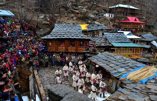 Rohru, Índia: Janglikh village faag festival