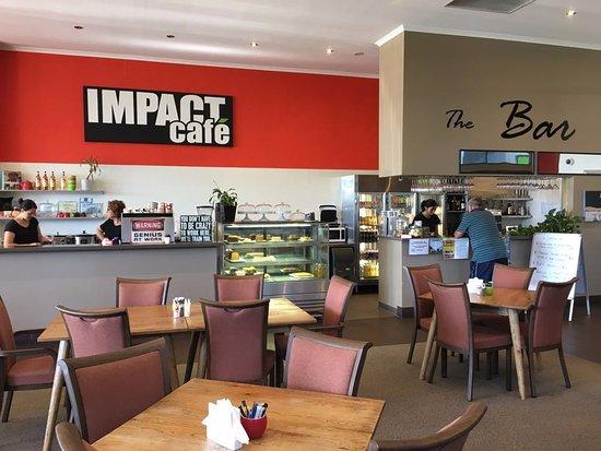 Quirindi, Australia: The inside of the Cafe