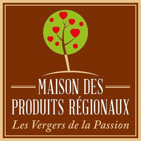 Douvres-la-Delivrande, France : Logo Maison des Produits Régionaux