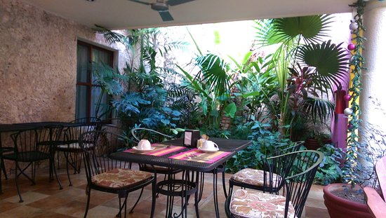 Koox Art 57 Boutique Hotel : Bereich für das Frühstück