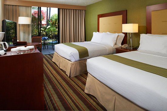 Holiday Inn Buena Park Hotel & Conference  Center: Patio Rooms include a patio located near our large pool area