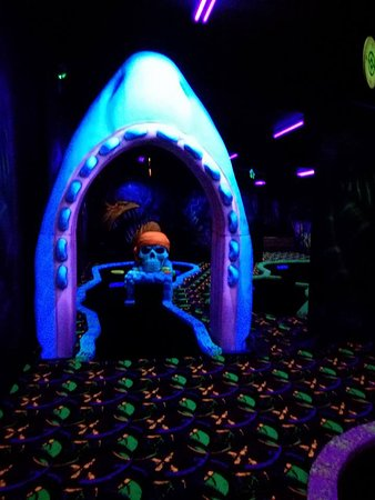 New Plymouth, Nieuw-Zeeland: be ware of the sharks sharp teeth (just kidding), awesome theme throughout.