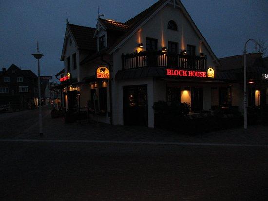 Block House Westerland (Sylt): Blockhouse bei Nacht