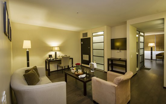 Signature Suite Living Room at Unipark Hotel