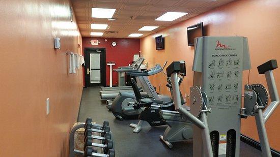 Crowne Plaza Oklahoma City: Fitness Center
