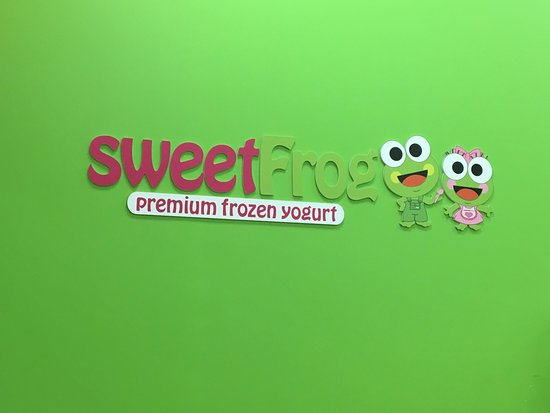 Sweet Frog Cicero - the Sweet Frog!