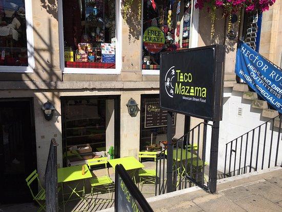 Taco Mazama Edinburgh 95 96 Princes St Princes Street