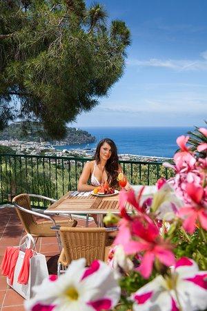 Hotel Villa Sirena: Terrazza panoramica
