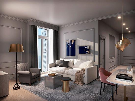 Hotel Excelsior Dubrovnik: Villa Odak Executive Suite Sea View & Balcony