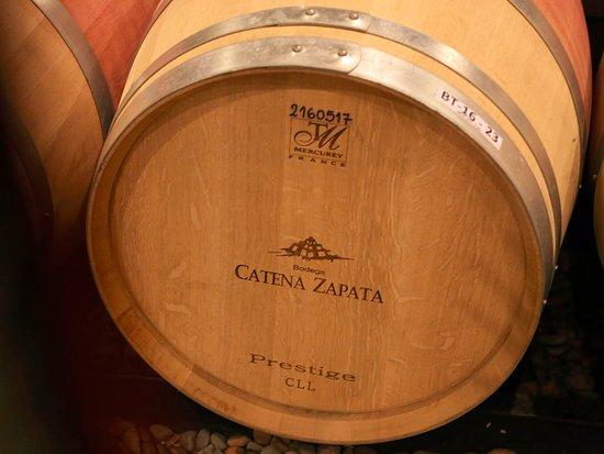 เมือง Agrelo, อาร์เจนตินา: Wine Fresh from the Barrel