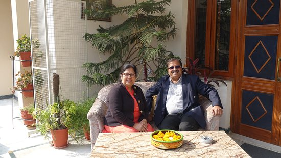 Jaipur Friendly Villa: The warm and personable homestay hosts
