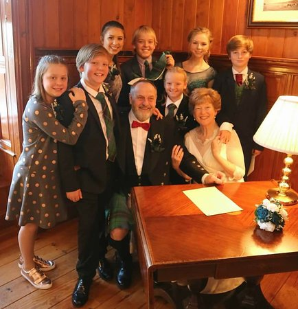 Evanton, UK: In the drawing room