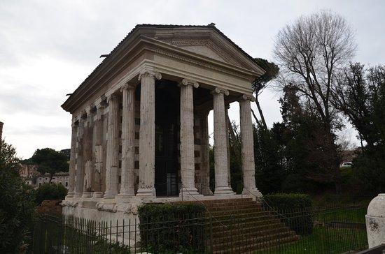Tempio di Portuno: Il tempio