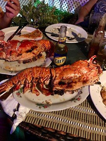 Barracuda Restaurant and Bar : lobster time (fresh)
