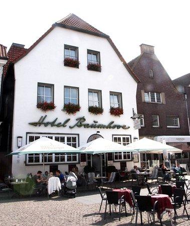 Werne, Allemagne : Terrasse