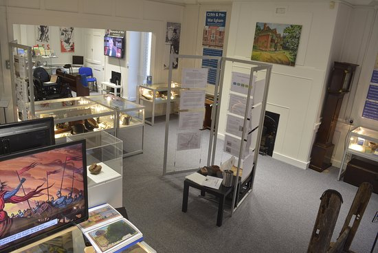 Egham, UK: View of the Museum