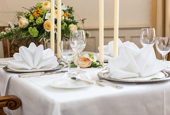 Romantik Hotel Fürstenhof: Restaurant Fürstenzimmer