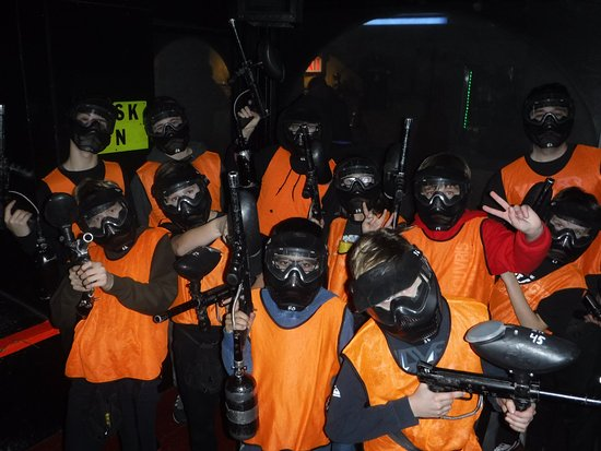Tag Zone - Indoor Paintless Paintball