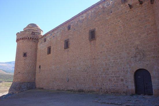 Castillo de la Calahorra puerta de ingreso