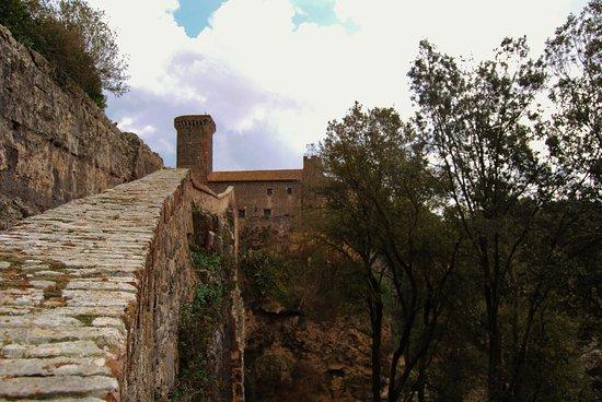 Montalto di Castro, Italy: Il ponte ed il Castello