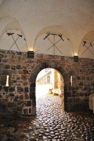 Montalto di Castro, Italy: Interno del cortile del Castello