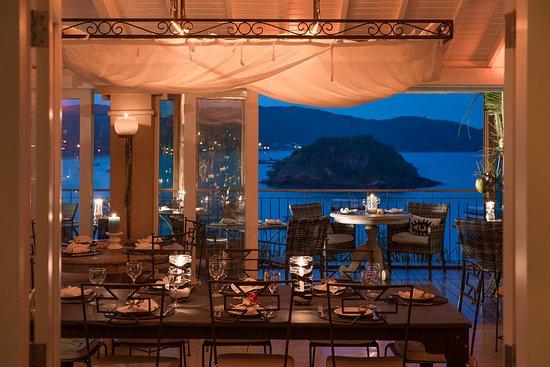 Vila d'este: Restaurante Egeo