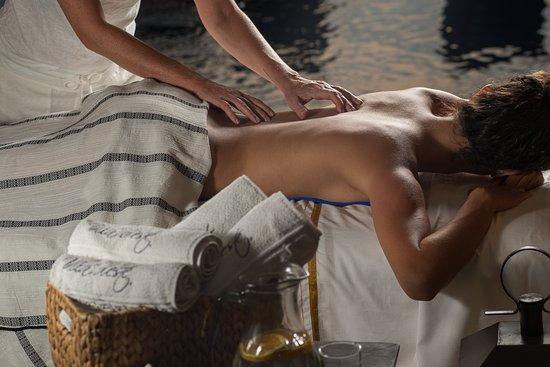 Vila D'este: Massagem