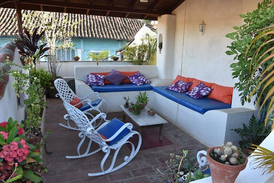 Terrasse couverte - Picture of Casa Particular el Arcangel ...