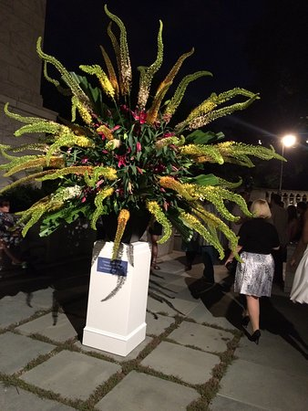 Cleveland Museum of Art: Flower Arrangement at the Summer Solstice Party 2015