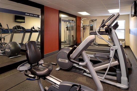 Henderson, NC: fitness center first floor