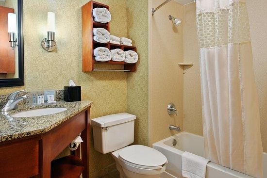 Hampton Inn St. Louis/Westport: Guest Bath, Tub