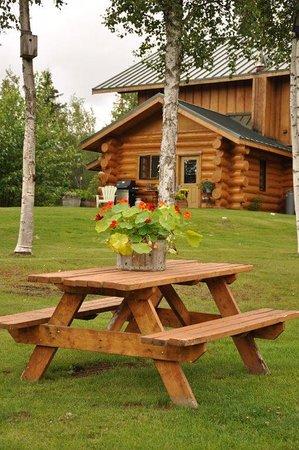 Willow, AK: gardens