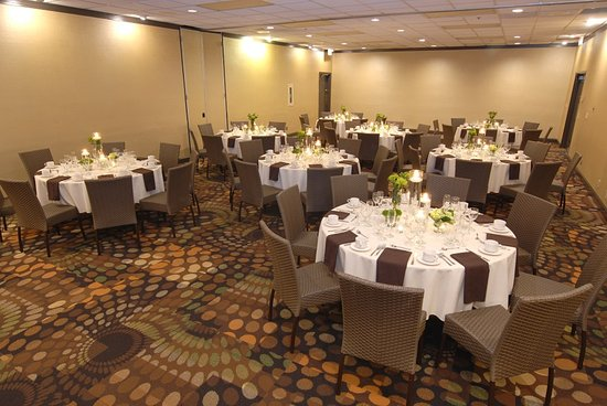 Wedding Reception Setup Picture Of Embassy Suites By Hilton Dallas