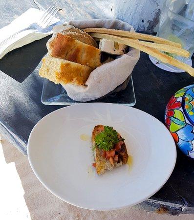 Villa Las Estrellas: starter bread