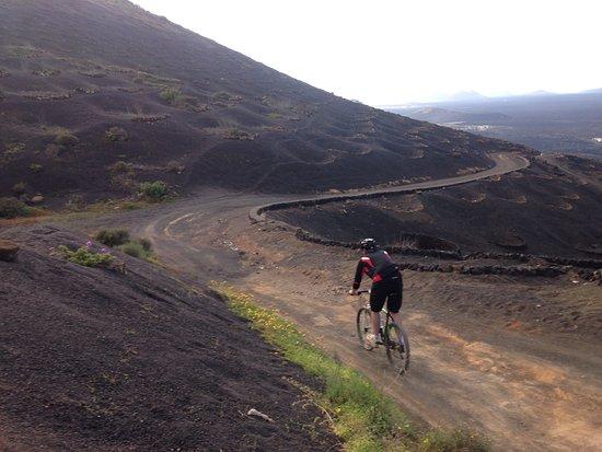 Bueno Bike Lanzarote: Great views...