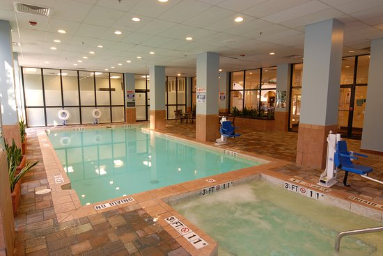 Indoor Pool - Picture of Embassy Suites by Hilton Dallas Love ...
