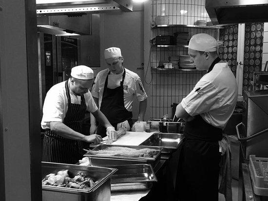 Demo Kitchen team.