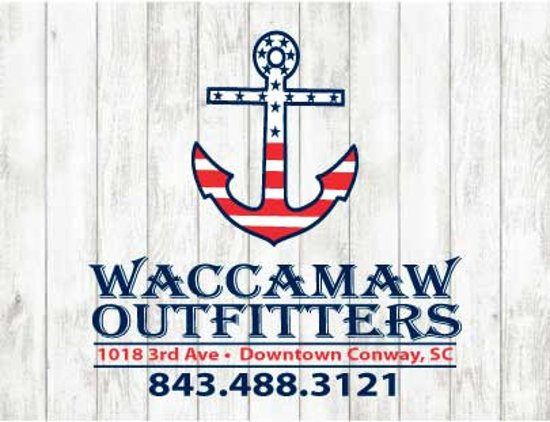 Waccamaw Outfitters located in beautiful downtown Conway, SC