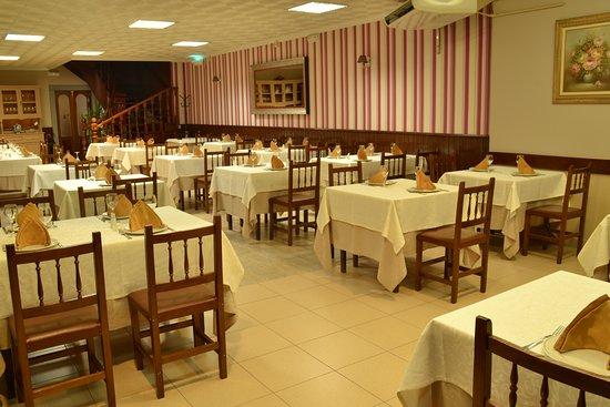 Forcarei, España: Comedor