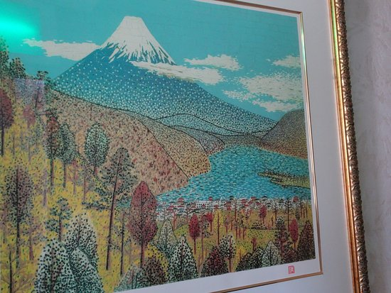 Hotel Kamakura Mori: 多分、山下清画伯の絵