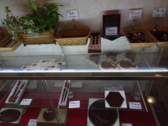 Hotel Kamakura Mori: お土産コーナー