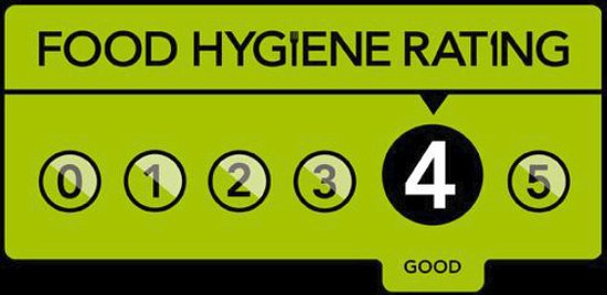 Lampeter, UK: Hygine rating