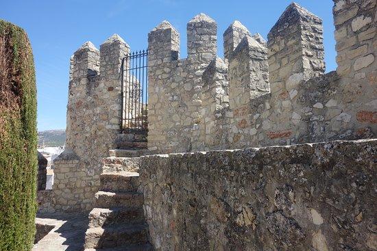 restos del Castillo al lado Parroquia Asuncion Cabra Cordoba